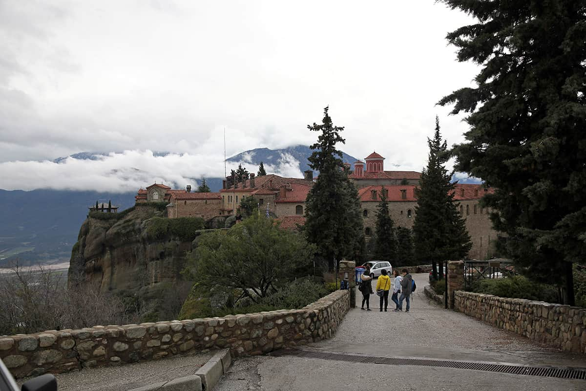 For an entrance fee of EUR 3.00 you can even visit the interior of a monastery
