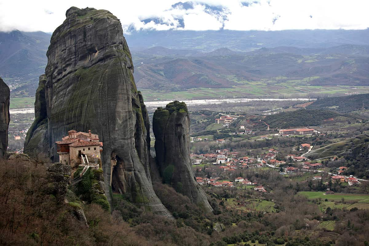 A total of 24 monasteries were built in the 14th century