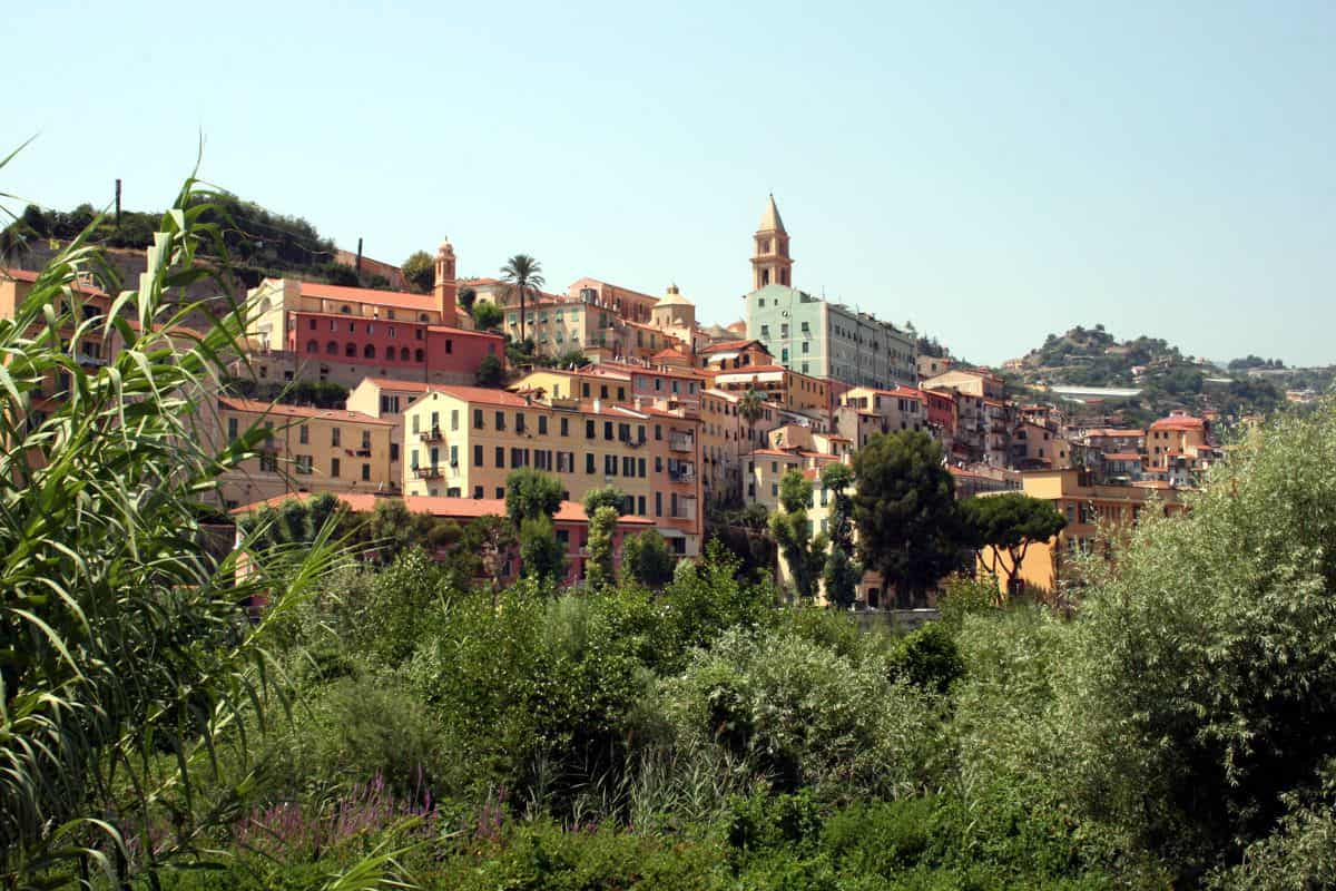 View on Ventimiglia