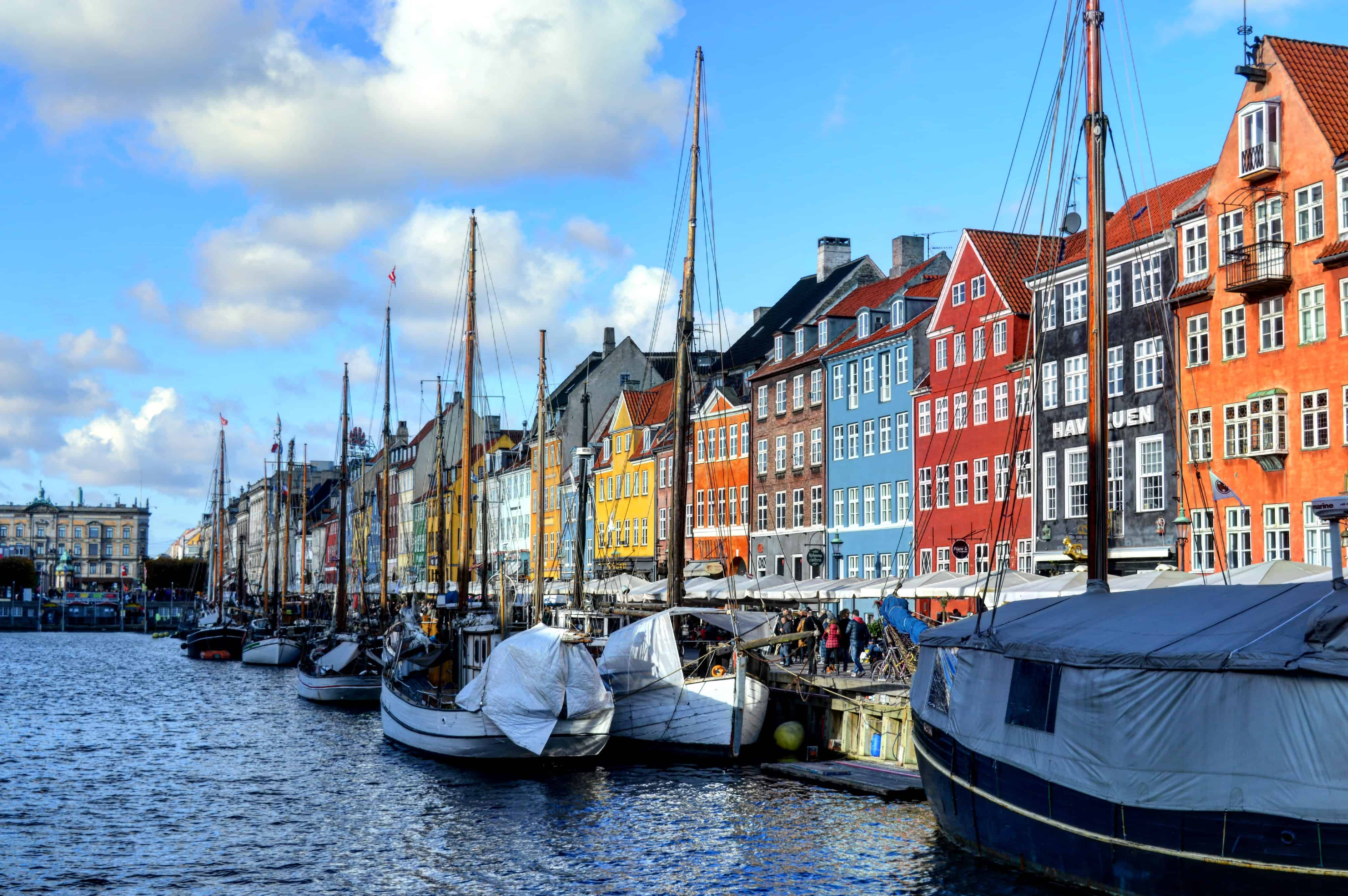 Nyhavn is one of the most beautiful and picturesque areas of Copenhagen
