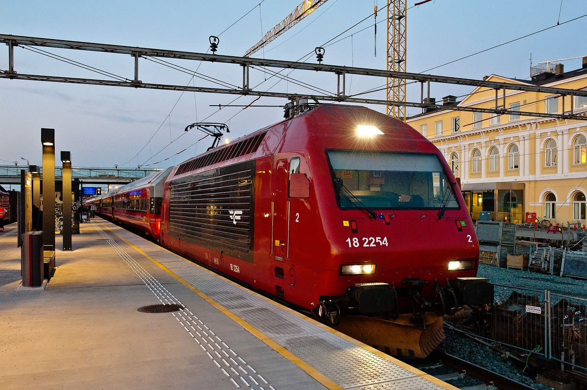 Train Fauske to Trondheim