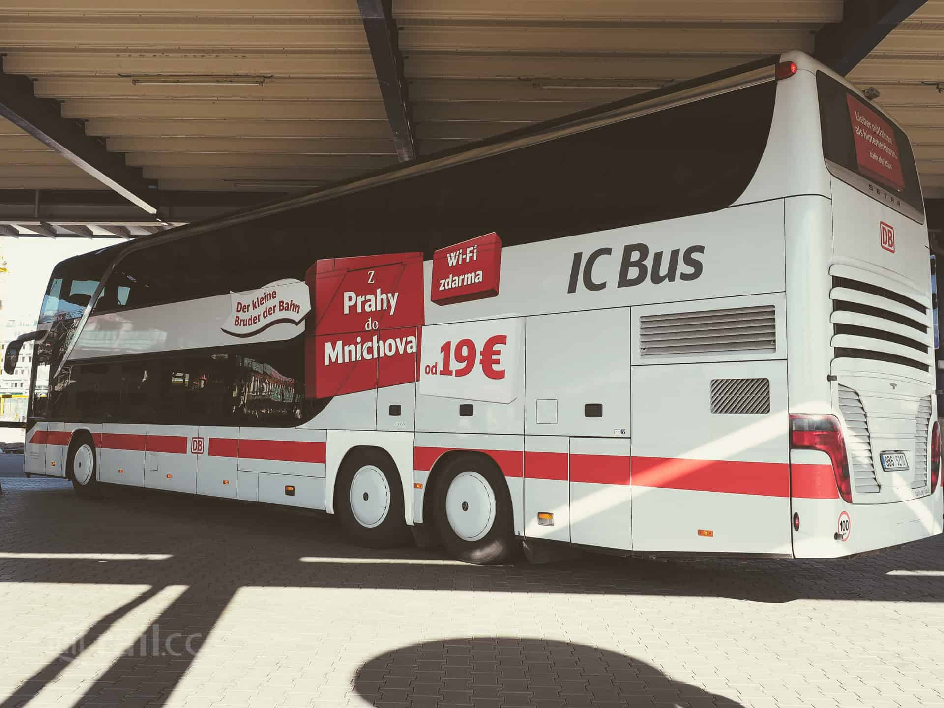 Ic Bus From Prague To Mannheim Review And Experience Rail Cc
