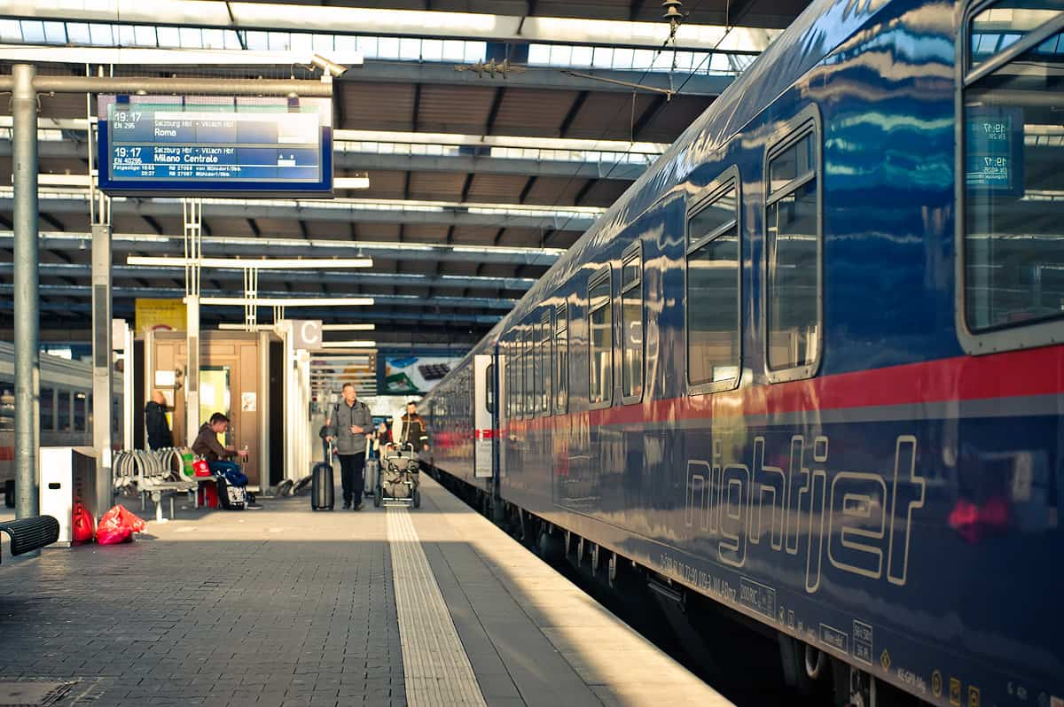 Munich to Rome by ÖBB Nightjet - Review of Tickets and the ...