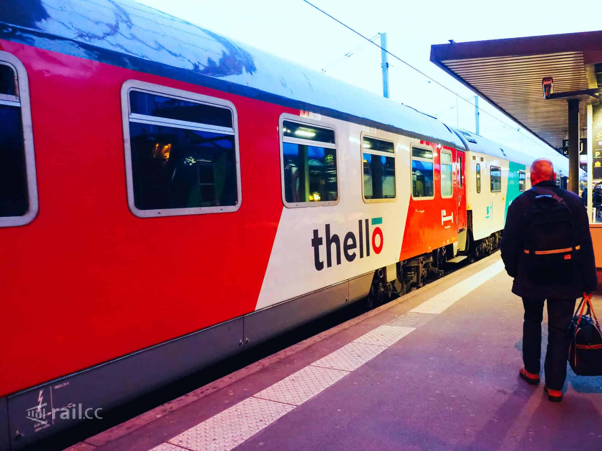 From France to Italy by night train. The Thello train from Paris and Dijon to Milan and Venice.