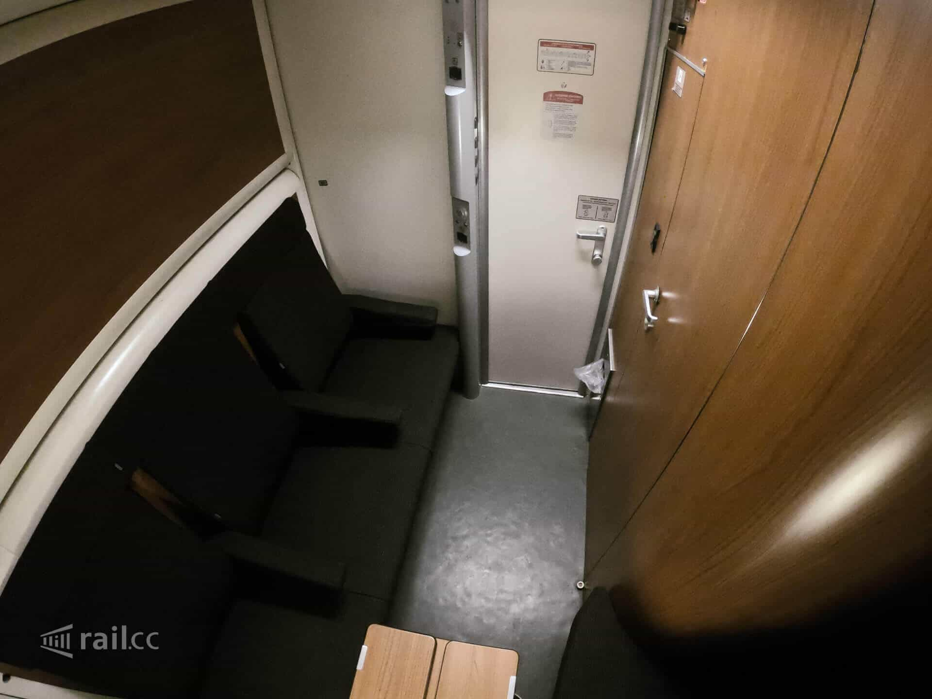 Sleeper night train from Paris via Milan to Venice. Travel overnight from France to Italy.