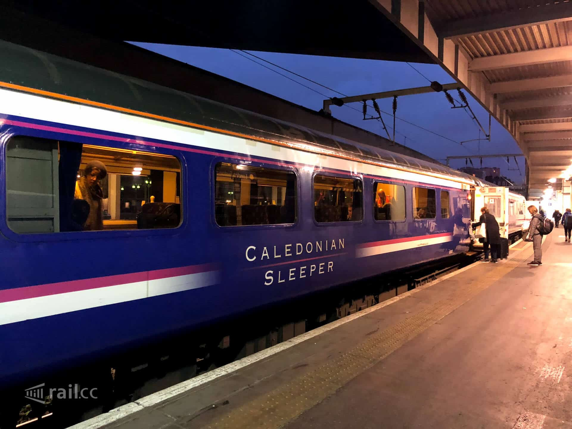 London To Inverness By Caledonian Sleeper Experience On A