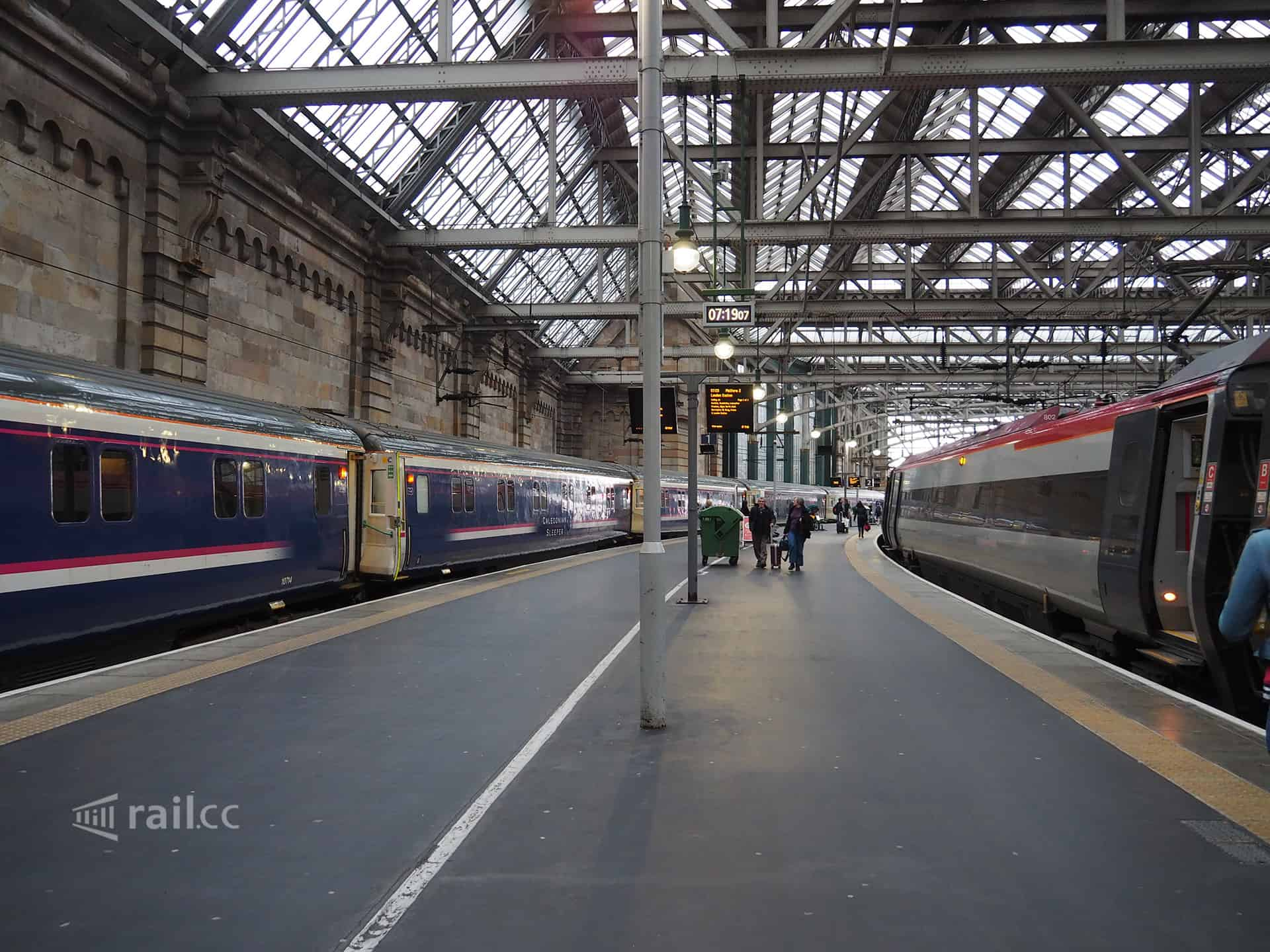 Glasgow railway station