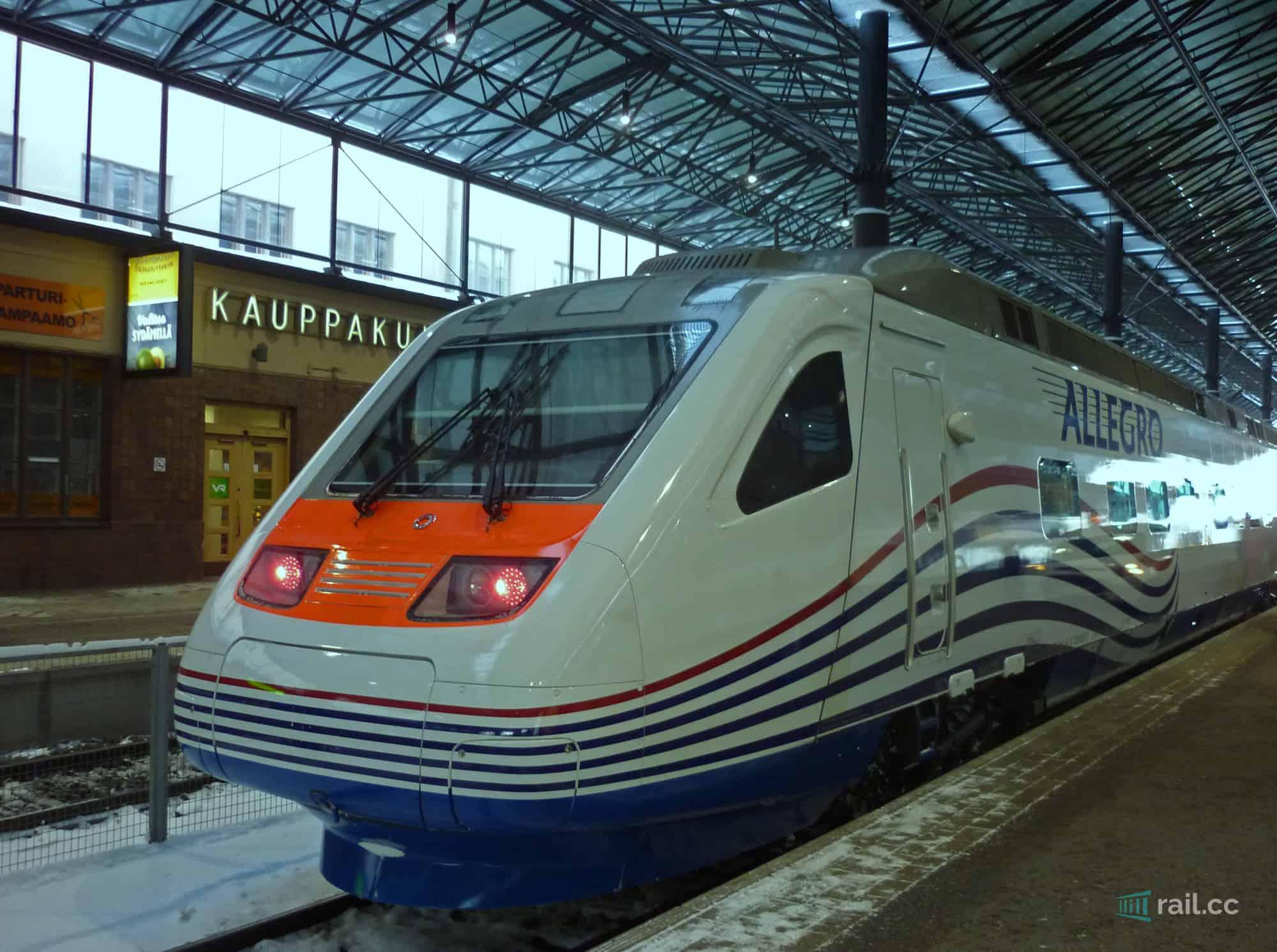 Train Helsinki