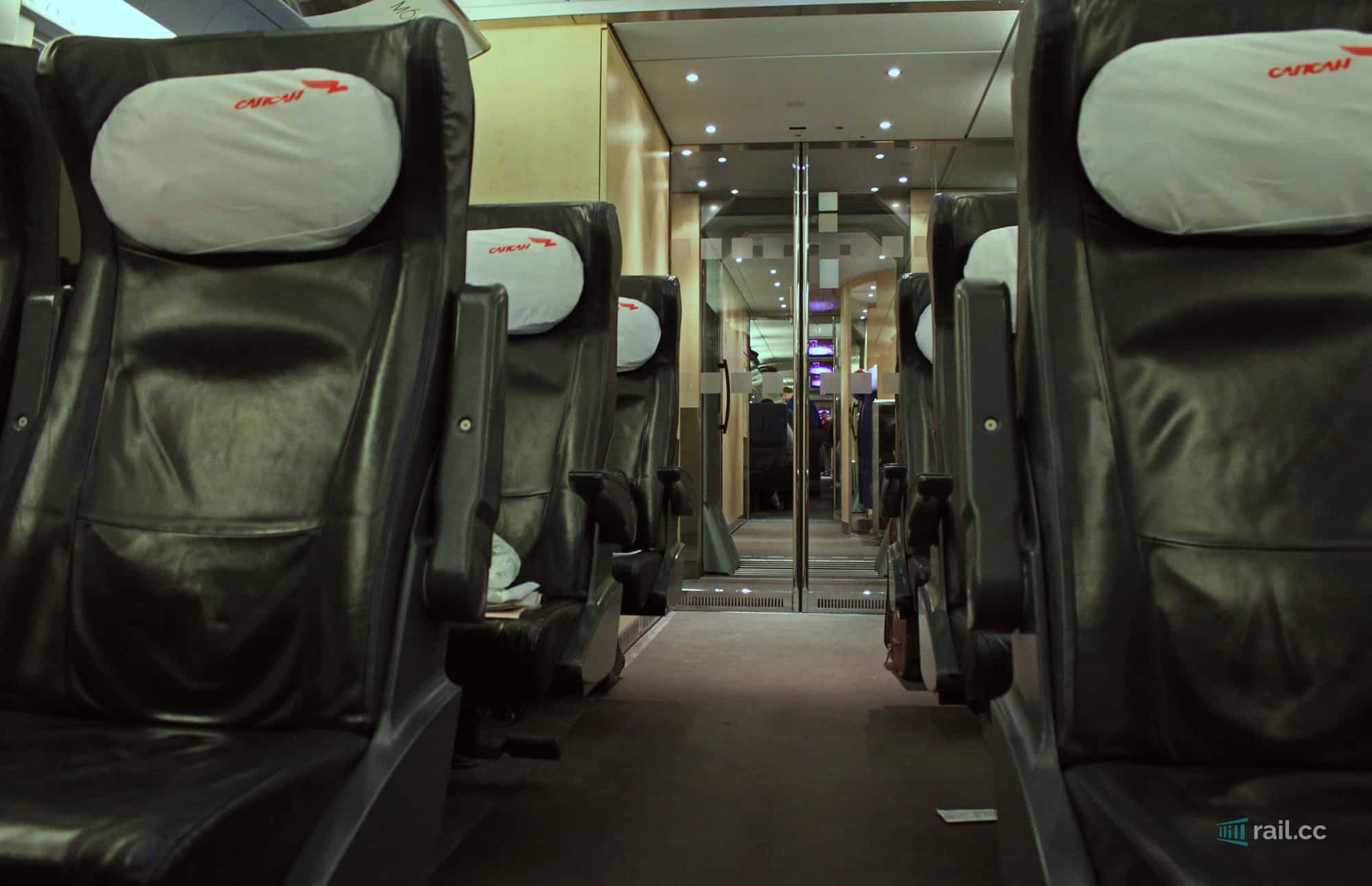 Business class in Spasan train