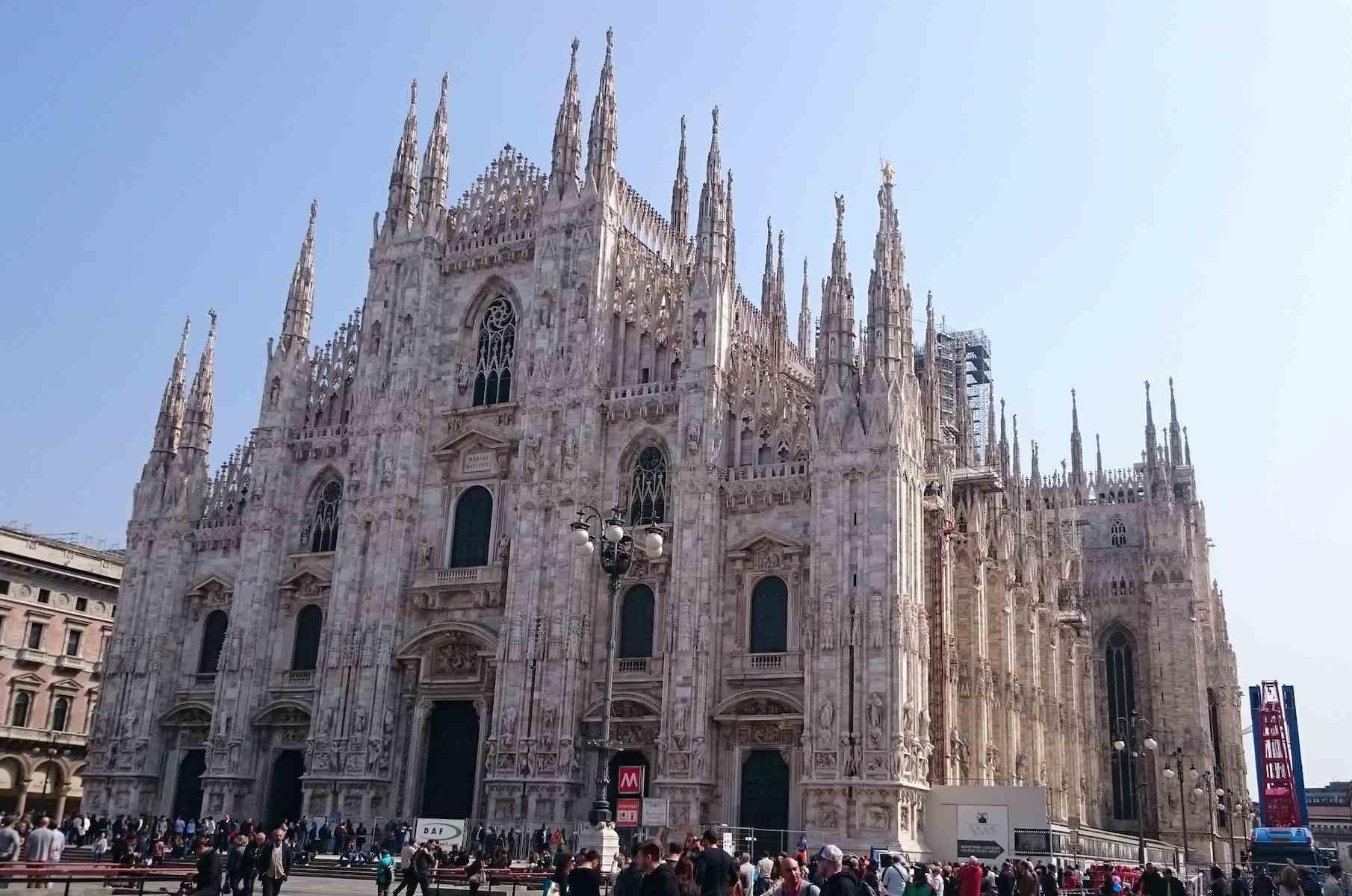 Mailands Wahrzeichen: Il Duomo
