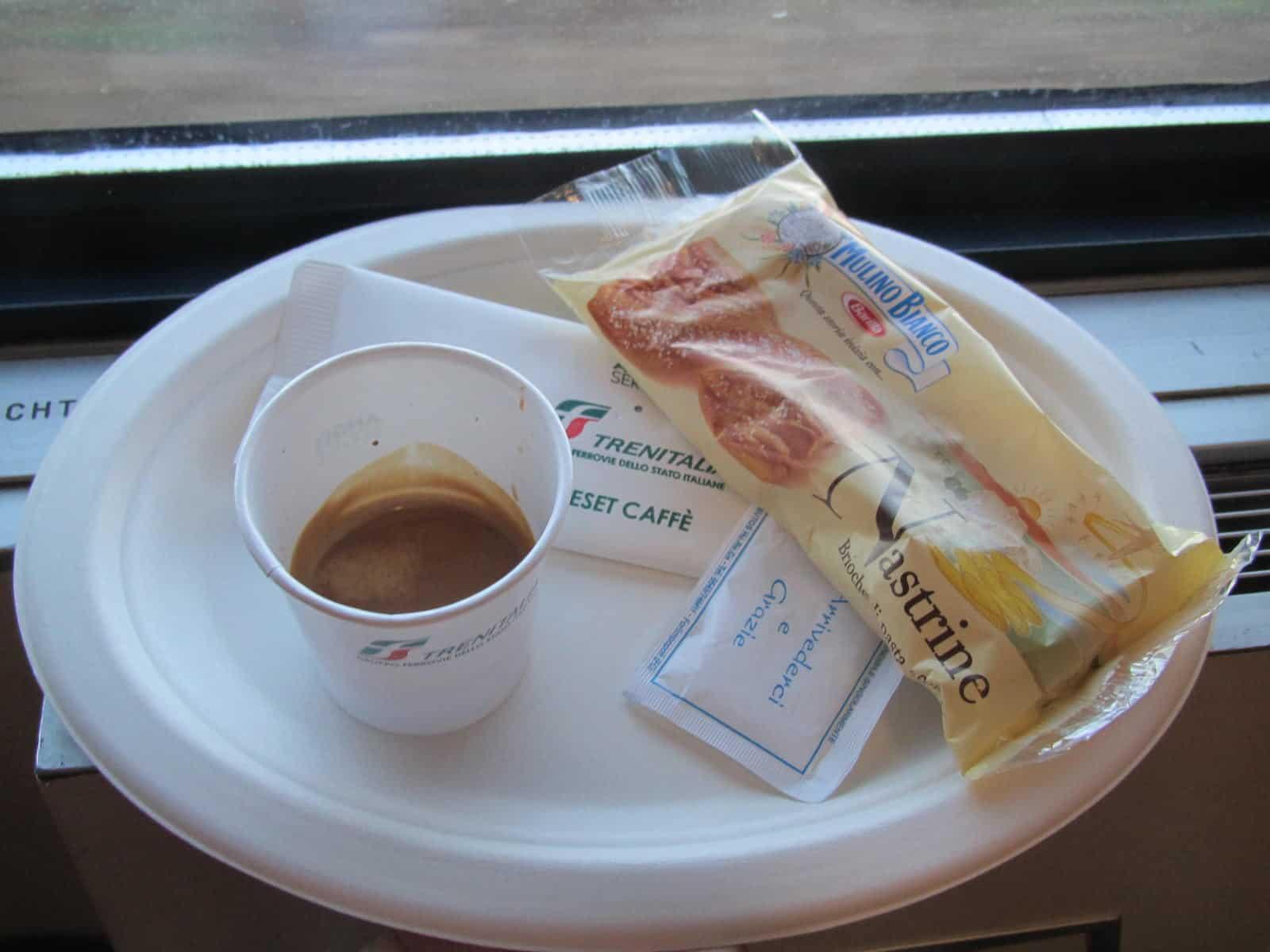 Frühstück im Schlafwagen
