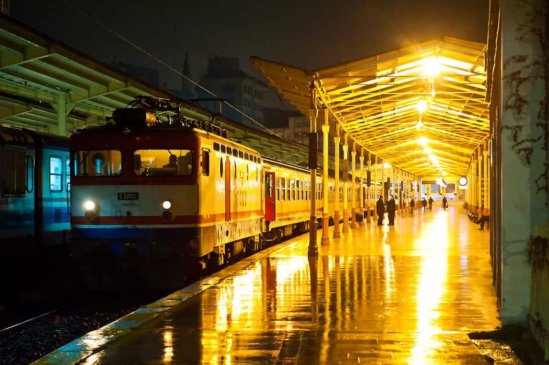 Erinnerung an bessere Zeiten: Nachtzug im nun geschlossenen Bahnhof Sirkeci in Istanbul.