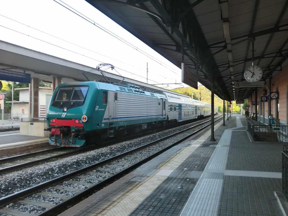 Zug von Trieste nach Venedig in Gorizia Centrale