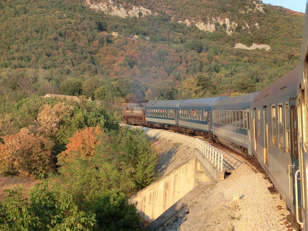 Istrianerbahn Pula-Ljubljana