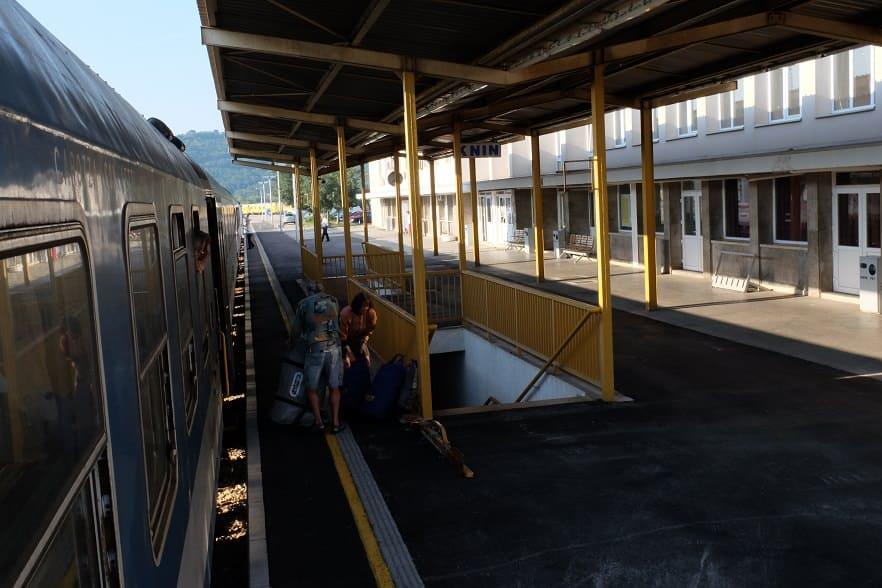Bahnhof Knin