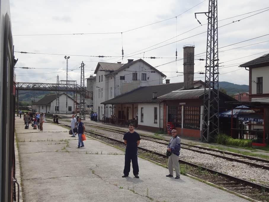 Bahnhof Novi Grad / Bosanski Novi