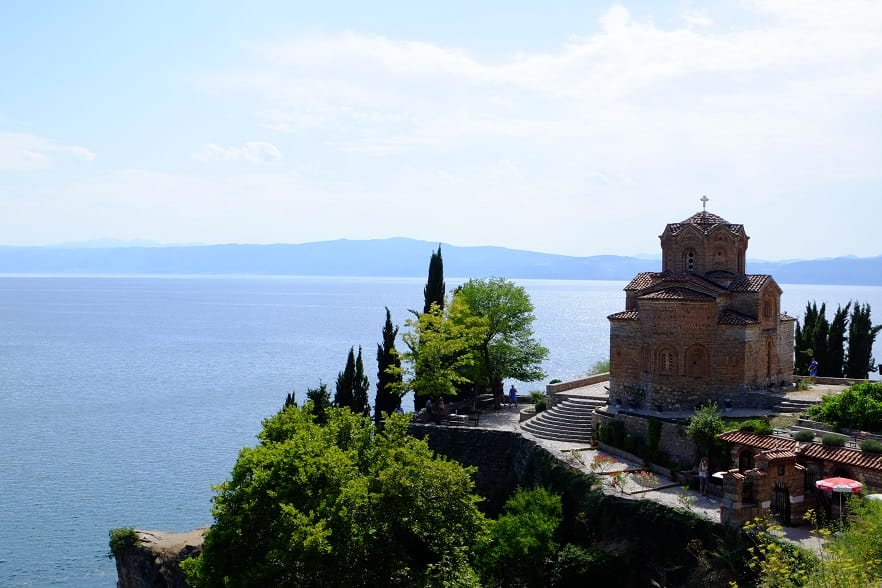St John Church at Ohrid