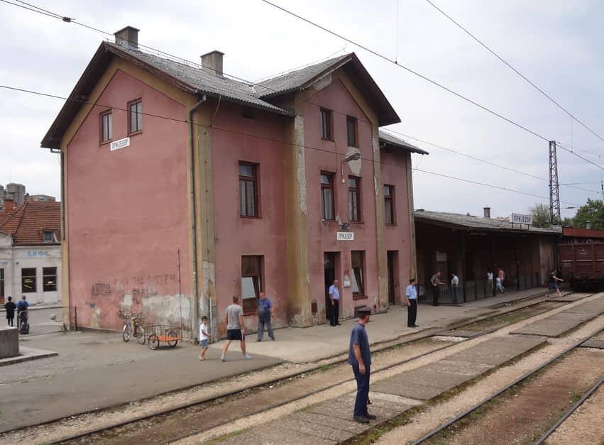 Bahnhof Prijedor