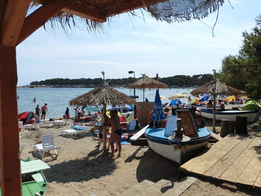 Strand in Medulin