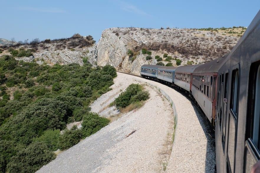 Im Nachtzug von Zagreb nach Split