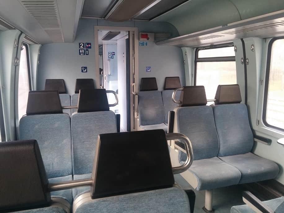 Im Zug von Florina nach Thessaloniki