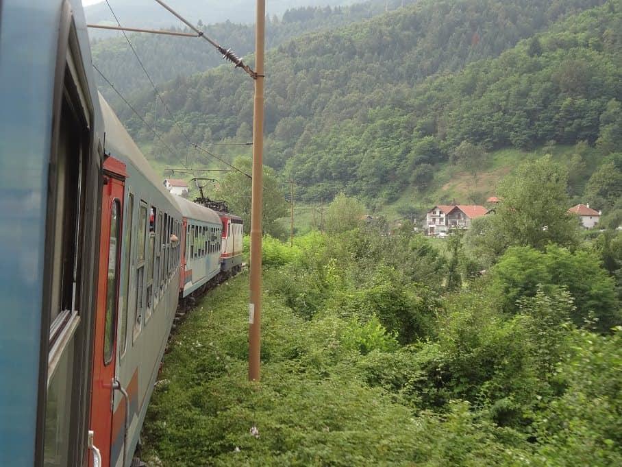 Zug Zagreb-Sarajevo