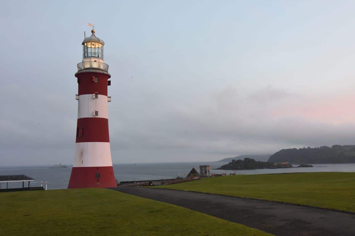 Abendspaziergang in Plymouth