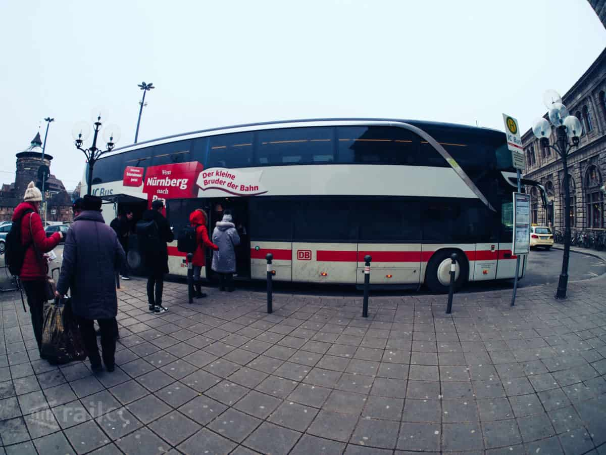 IC Bus - Nürnberg Hauptbahnhof - Busbahnhof
