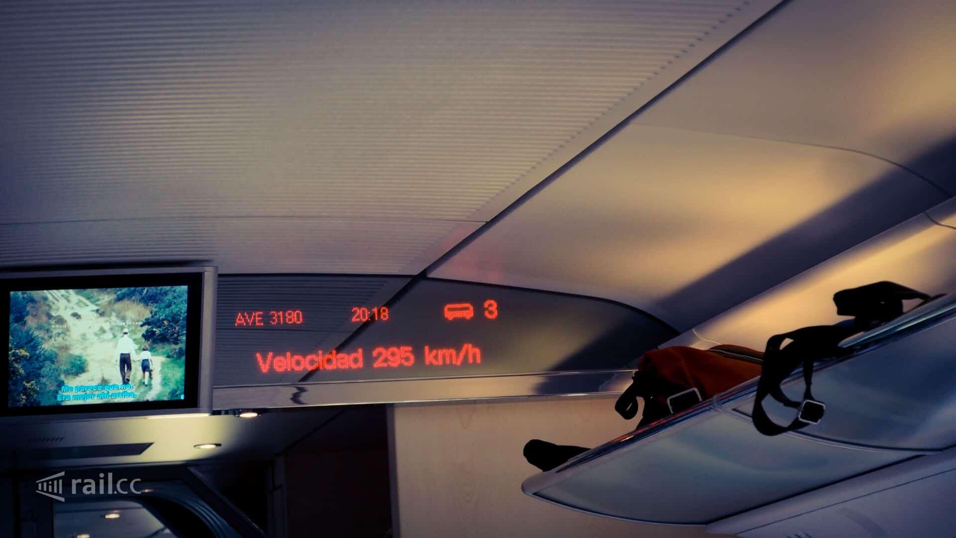 AVE Hochgeschwindigkeitszug in Spanien