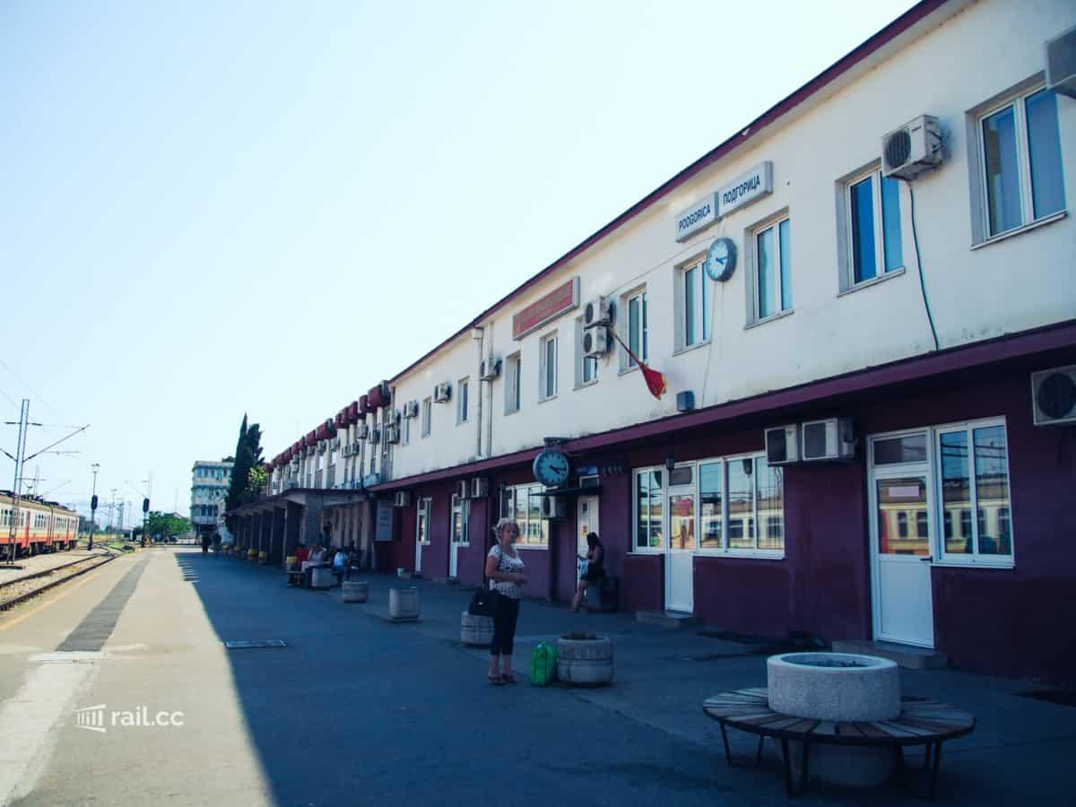 Bahnhof Podgorica