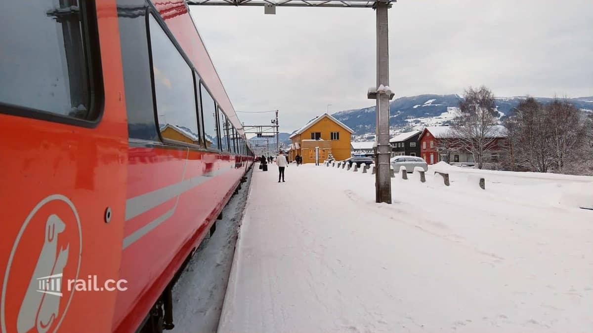 Oslo nach Bergen mit dem Zug