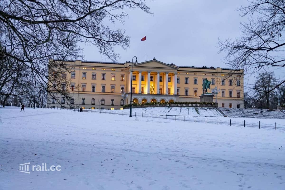 Palast in Oslo