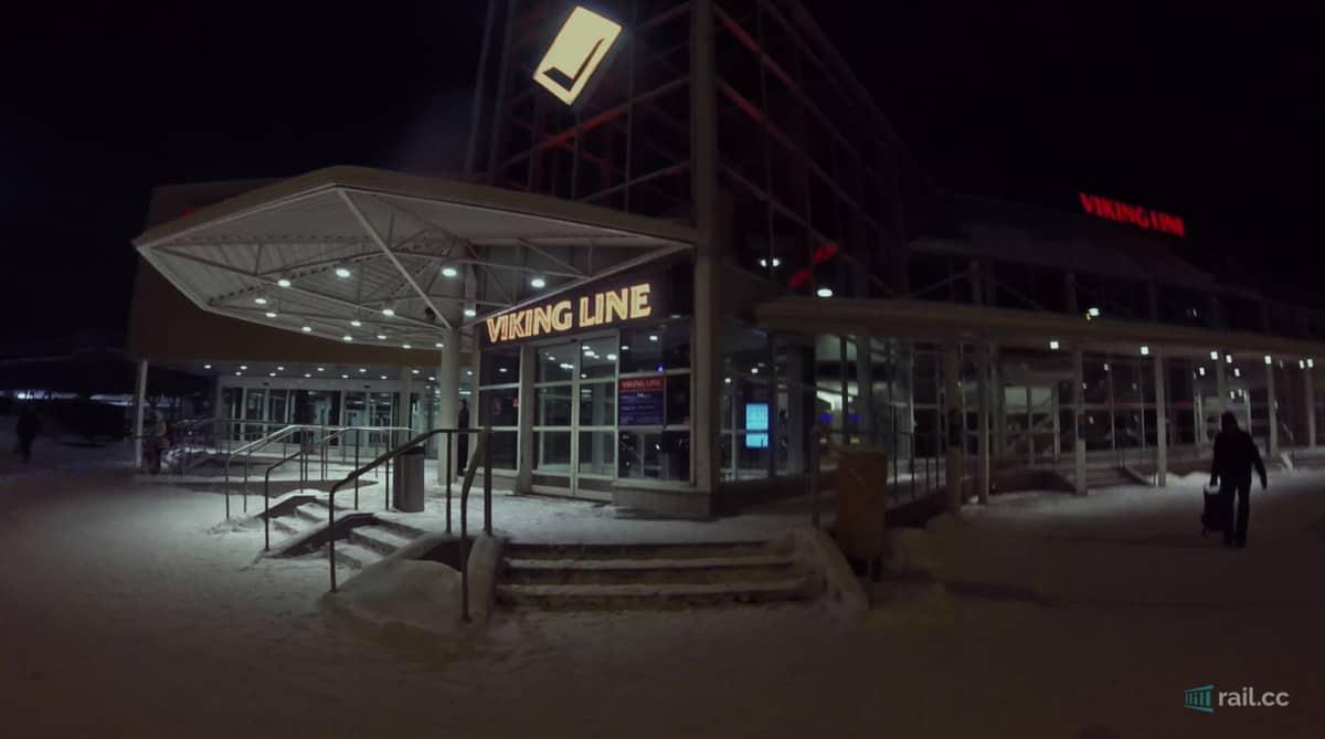 Vikingline Terminal in Turku