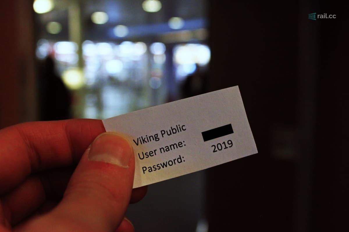 Vikingline Wifi Passwort