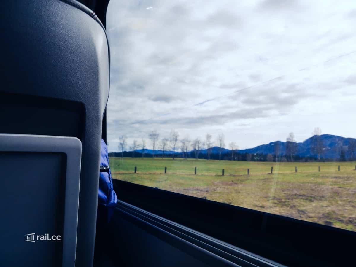 Railjet in Österreich