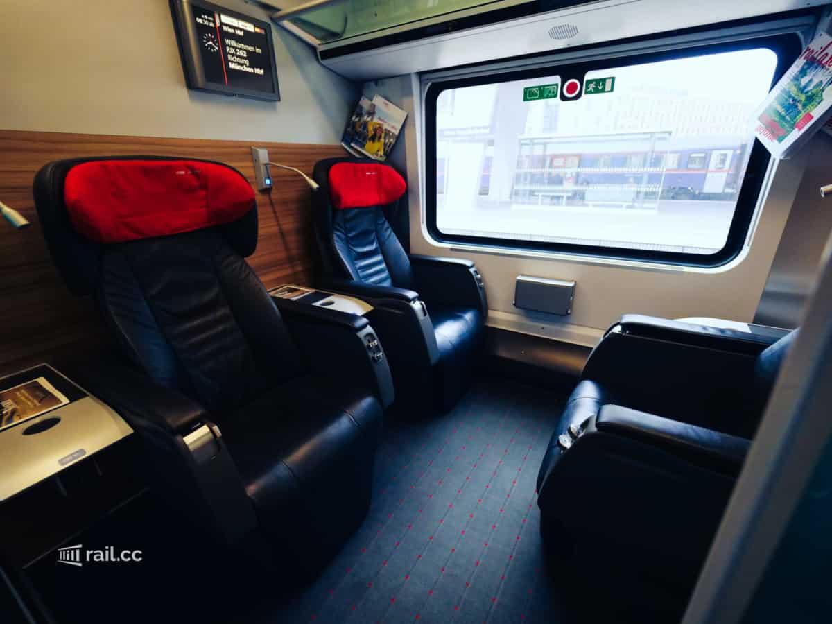 Railjet Business Class