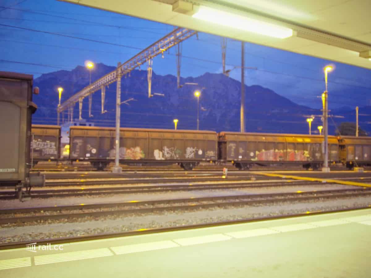 Bahnhof Buchs SG